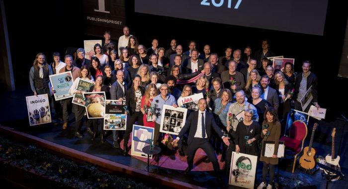 Vinnarna 2017 i printkategorierna.